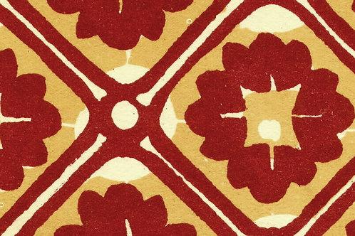 Carta Varese Disegni Geometrici Rosso 50x70cm (cod. 0857)