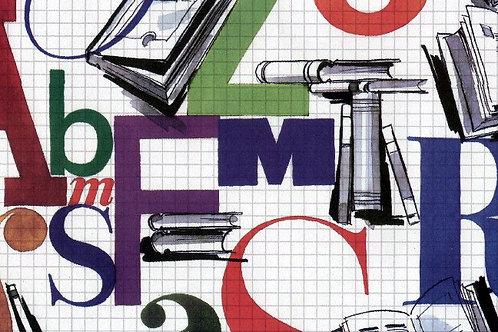 Carta con Lettere 50x70cm (cod.2052)