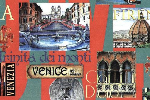 Carta Viaggi Venezia 50x70cm (cod.6647)