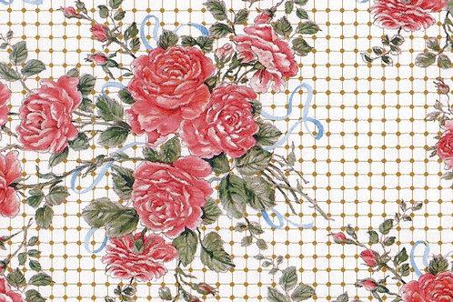 Carta Fiori Rosa 50x70cm (cod. 1194)