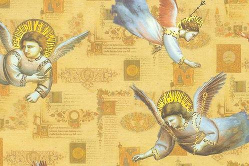 Carta con Angeli 50x70cm (cod. 6343)