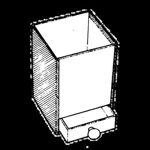 Portamatite con cassetto (8x8x12h) da rivestire