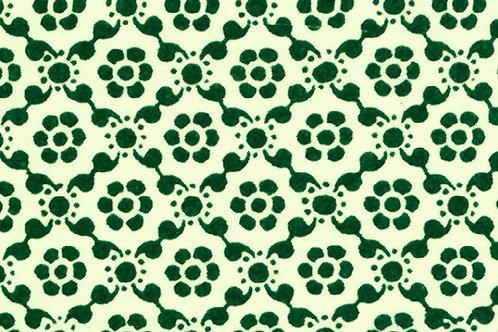 Carta Varese Disegni Geometrici Verde 50x70cm (cod. 0048)