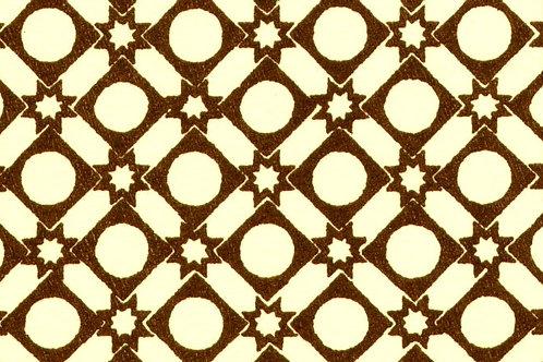 Carta Varese Disegni Geometrici marrone 50x70cm (cod. 0105)