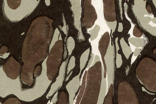 Carta Marmorata Marrone 50x70cm (cod.0276)
