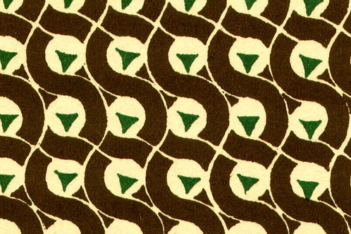 Carta Varese Disegni Geometrici Marrone 50x70cm (cod. 0136)