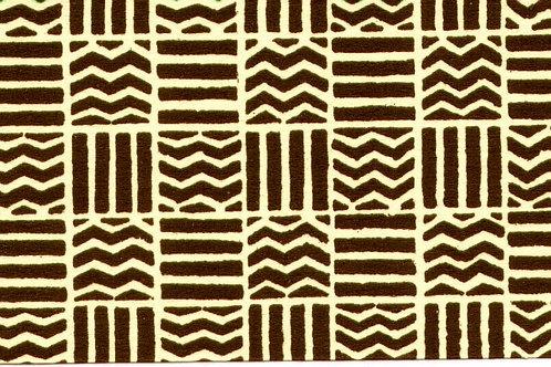 Carta Varese Disegni Geometrici marrone 50x70cm (cod. 0188)