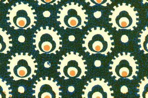 Carta Varese Disegni Geometrici Blu 50x70cm (cod. 0141)