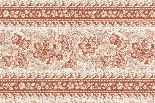 Carta Varese Fiorita Rosso 50x70cm (cod. 6606)
