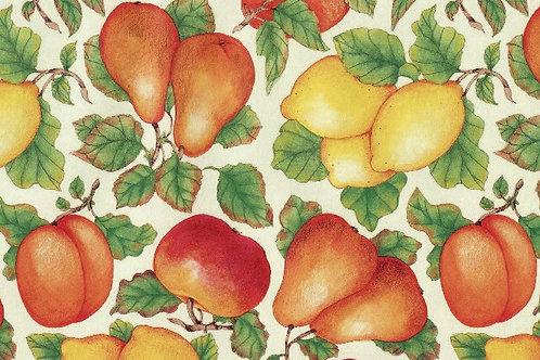 Carta Frutta Gialla e Rossa 50x70cm (cod.1589)