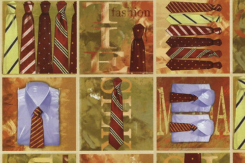 Carta con Cravatte 50x70cm (cod. 5155)