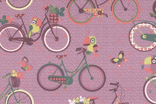 Carta con Biciclette 50x70cm (cod.6109)
