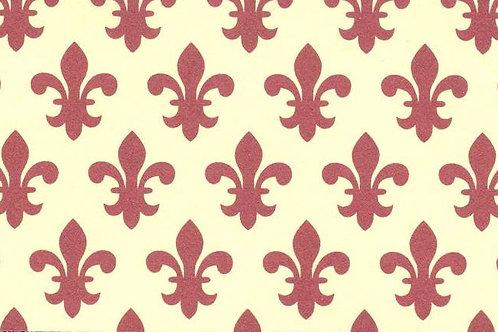 Carta Varese Giglio Bordeaux 70x100cm (cod. 1727)