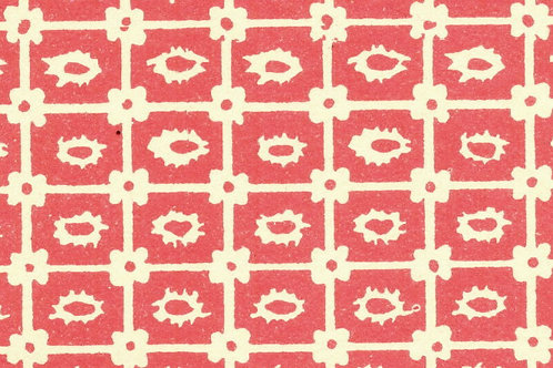 Carta Varese Disegni Geometrici Rosso 50x70cm (cod. 0808)