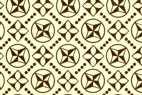 Carta Varese Disegni Geometrici Marrone 50x70cm (cod. 0825)