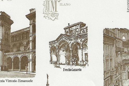 Carta Viaggi Milano 50x70cm (cod.7115)