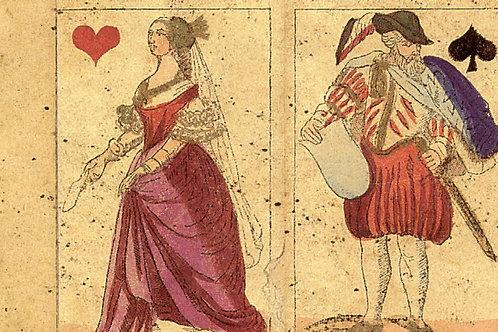 Carte con Disegni Carte da Gioco 50x70cm (cod.1324)