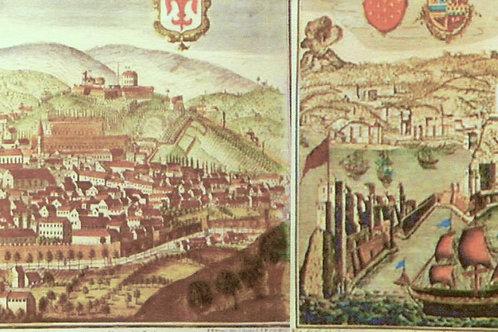 Carta con Disegno Porto 50x70cm (cod.131A)