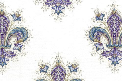 Carta Giglio Blu e Oro 50x70cm (cod. 1427)