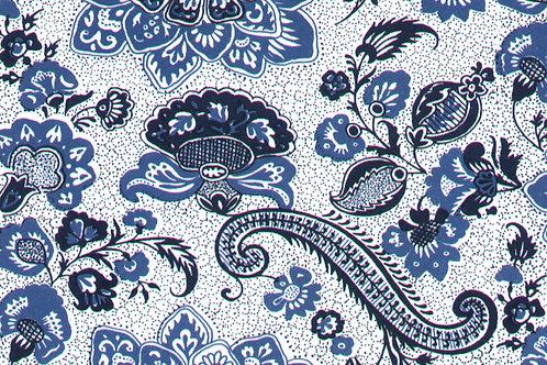 Carta Varese Fiorita Blu 50x70cm (cod. 2089)
