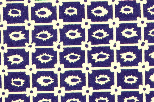 Carta Varese Disegni Geometrici Blu 50x70cm (cod. 0823)
