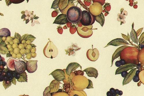 Carta Frutta Pesche e Uva 50x70cm (cod.5827)