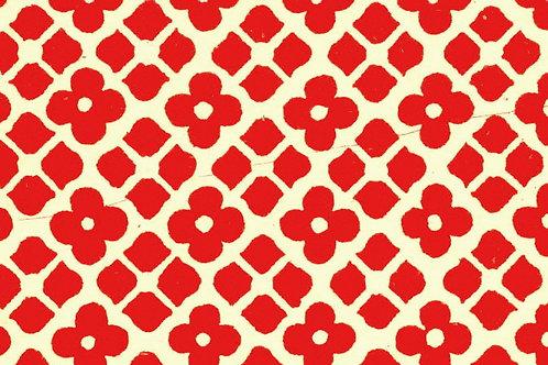 Carta Varese Disegni Geometrici Rosso 50x70cm (cod. 0046)
