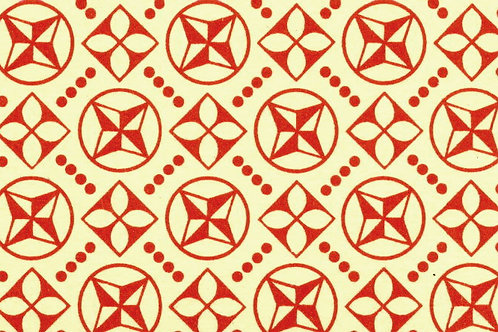 Carta Varese Disegni Geometrici Rosso 50x70cm (cod. 0824)