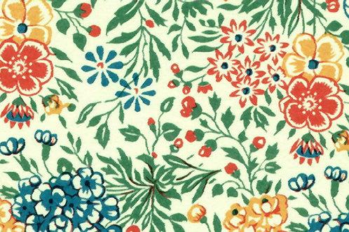 Carta Fiori RosaArancioBlu 50x70cm (cod. 0222)