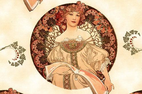 Carta con Disegno di Donna 50x70cm (cod.146A)