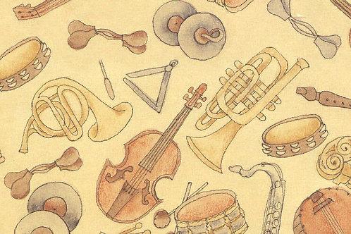 Carta con Musica 50x70cm (cod.1160)