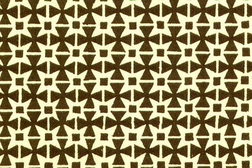 Carta Varese Disegni Geometrici Marrone 50x70cm (cod. 0061)