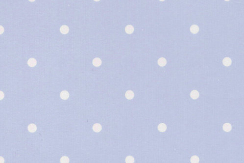 Carta con Puntini Bianchi su Azzurro 50x70cm (cod.2120)