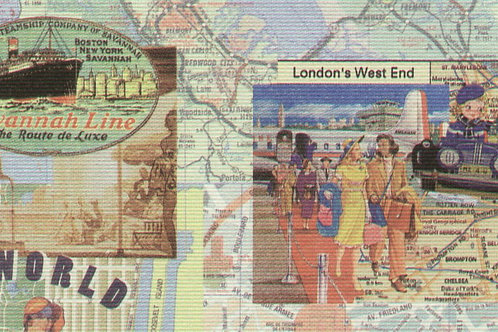 Carta Viaggi Londra Cartina 50x70cm (cod.5821)
