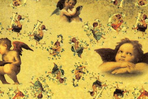 Carta con Angeli 50x70cm (cod. 1452)