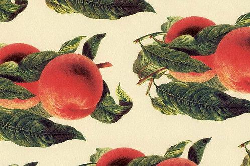 Carta Frutta Rossa con Foglie Verdi 50x70cm (cod. 1088)