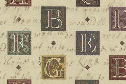 Carta con Lettere 50x70cm (cod.2105)