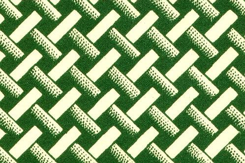 Carta Varese Disegni Geometrici Verde 50x70cm (cod. 0389)