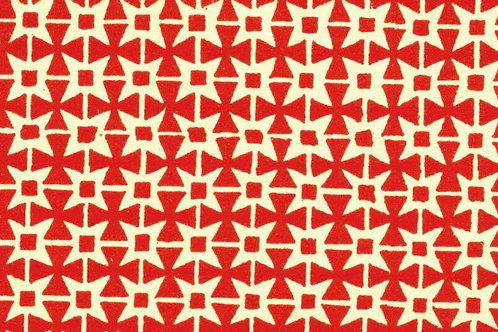 Carta Varese Disegni Geometrici Rosso 50x70cm (cod. 0062)