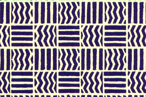Carta Varese Disegni Geometrici Blu 50x70cm (cod. 0083)