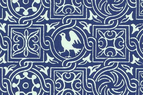 Carta Varese Uccelli Blu 50x70cm (cod. 0179)