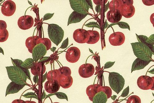 Carta Frutta Ciliegie Rosse 50x70cm (cod. 1006)