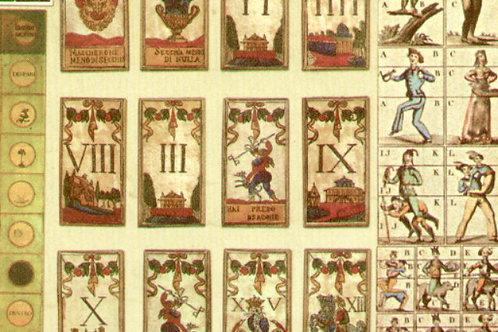Carte con Disegno Carte da Gioco 50x70cm (cod.6149)