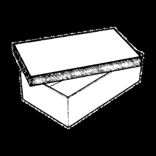 Scatola Rettangolare (in varie misure) da rivestire