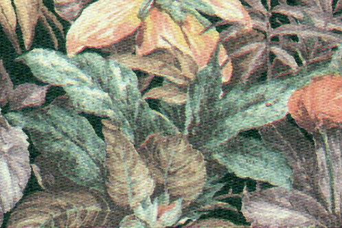 Carta Fiori Rosa Foglie Verdi 50x70cm (cod. 0467)