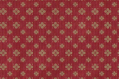 Carta Varese Rami Rosso e Marrone 50x70cm (cod. 2185B)