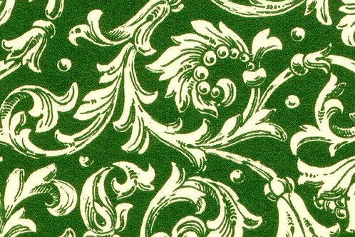 Carta Varese Fiorata Verde 50x70cm (cod. 0092)