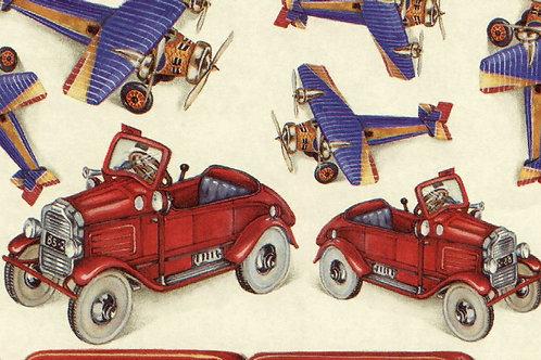 Carta con Macchine e Aerei 50x70cm (cod.1493)