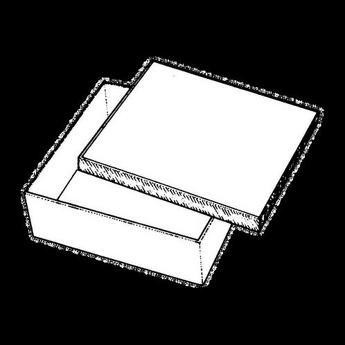 Scatola Quadrata (in varie misure) da rivestire