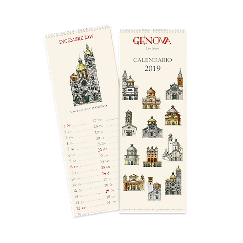 Calendario Chiese di Genova 2019